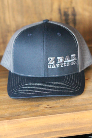 Z Bar Cattle Co Navy/Grey Hat