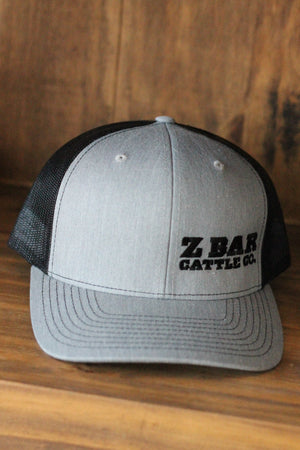 Z Bar Cattle Co Grey/Black Hat