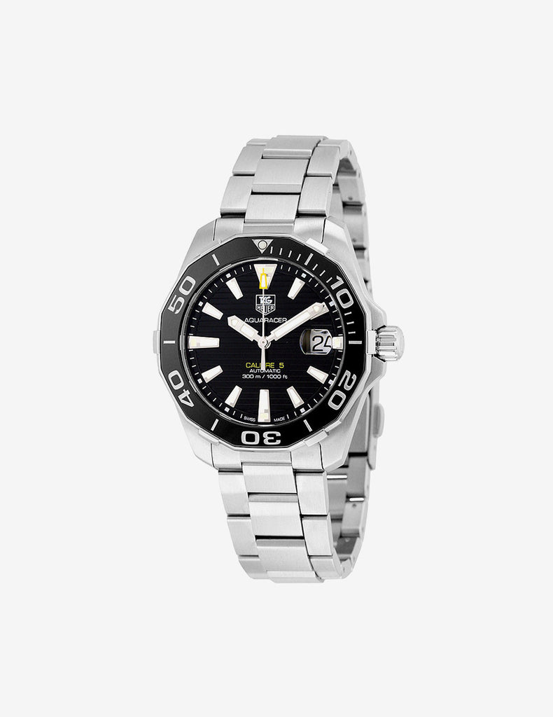 TAG HEUER Aquaracer Black Dial Stainless Steel
