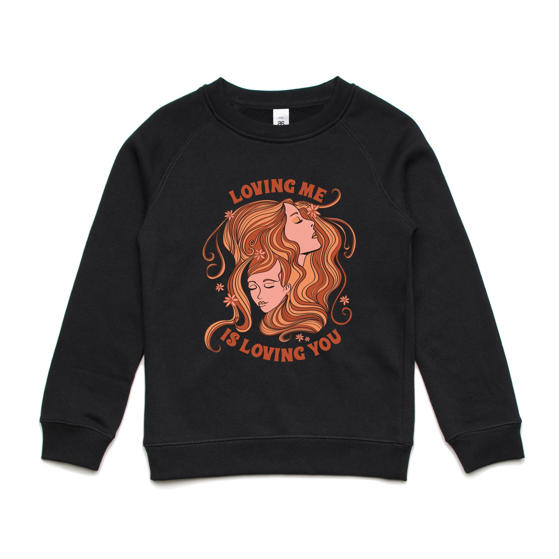 'Loving Me is Loving You' Kids Jumper