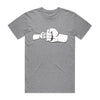 Pound It Father's Day Tee Grey Marle