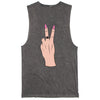 PEace Love go F yourself stonewash tank | Eskimo Nell