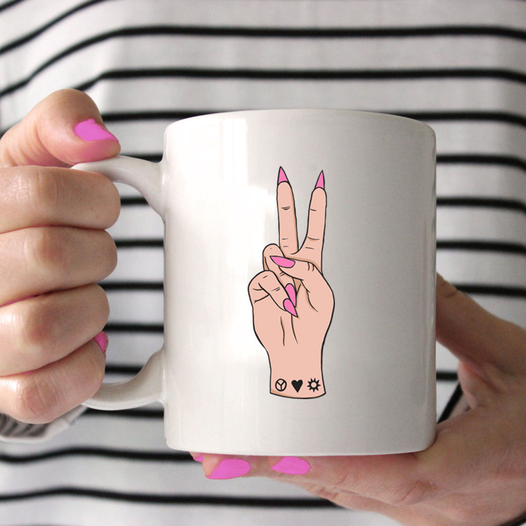 Peace Love F you Mug | Eskimo Nell