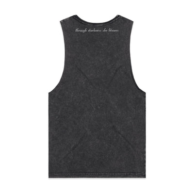 Eskimo Nell | Stonewash Tank Through Darkness She Blooms