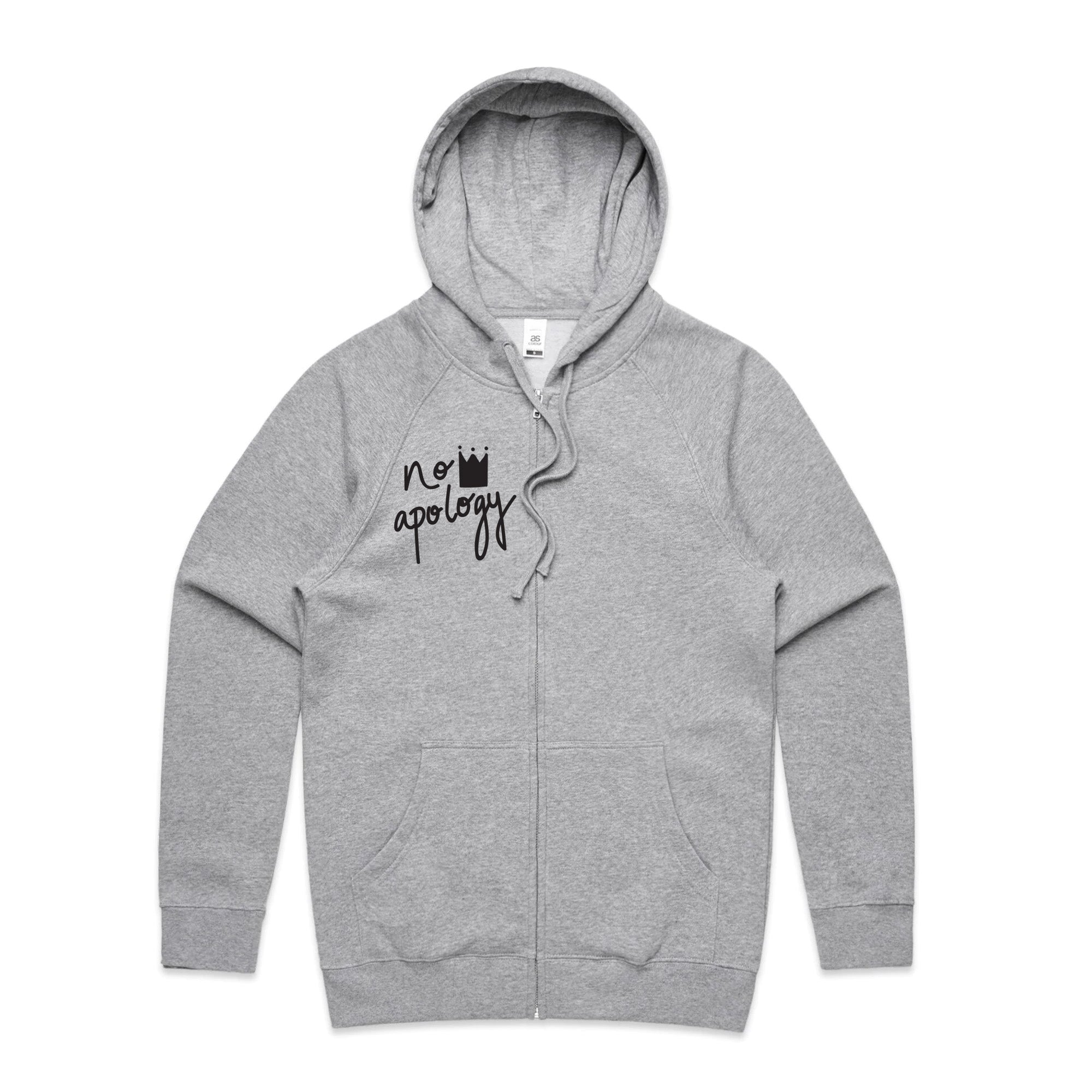 'Just Me Being Me' Zip Up Hoodie