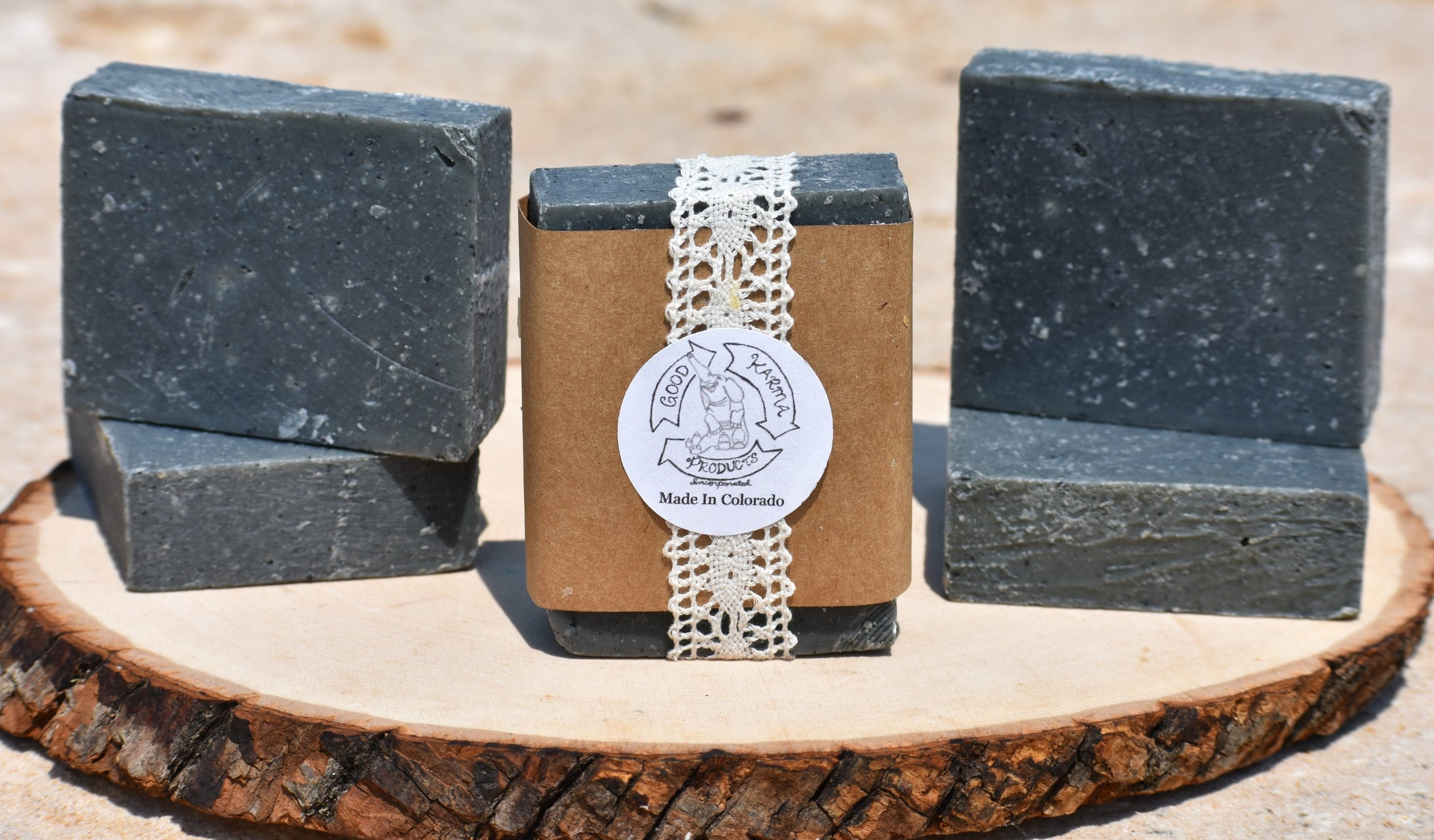 Lemongrass Charcoal Soap - 4 Pack