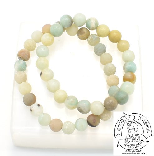 Amazonite Stretchy Stone Bracelets