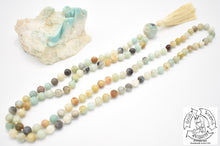 Load image into Gallery viewer, Polished Amazonite Handmade Mala