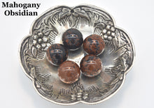 Load image into Gallery viewer, Mahogany Obsidian Guru Beads