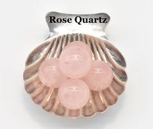 Load image into Gallery viewer, Rose Quartz Guru Beads