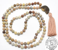 Load image into Gallery viewer, Fossil Stone Mala