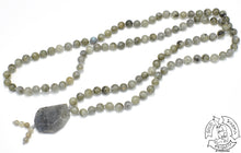 Load image into Gallery viewer, Green Labradorite Mala Handmade in the USa