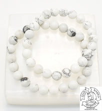 "Load image into Gallery viewer, ""Calming"" - Howlite Stone Bracelet"