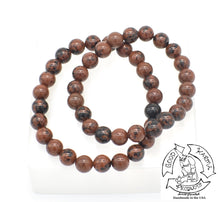 "Load image into Gallery viewer, ""Advancing"" - Mahogany Obsidian Stone Bracelet"