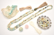 Load image into Gallery viewer, Matte Amazonite Mala Kit Example