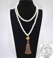 Load image into Gallery viewer, Mala Handmade in the USA with 108 Stone Magnesite Beads