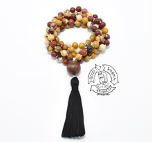 Load image into Gallery viewer, Mala Handmade with 108 Mookaite Stone Beads