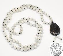 Load image into Gallery viewer, 108 Bead Handmade Moonstone Mala