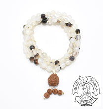 Load image into Gallery viewer, Montana Agate Handmade Mala with 108 Stone Beads