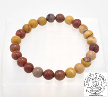 "Load image into Gallery viewer, ""Strengthening"" - Mookaite Stone Bracelet"