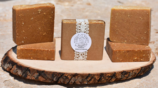 Oats, Goats, and Bees - Soap 5 Pack