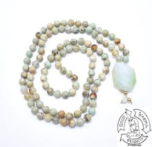 Load image into Gallery viewer, Mala made with Ocean Jasper