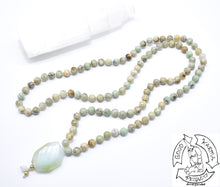 Load image into Gallery viewer, Ocean Jasper Handmade Mala with 108 Stone Beads