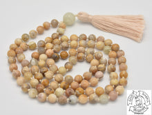 Load image into Gallery viewer, Peach Moonstone Handmade Mala