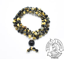 Load image into Gallery viewer, Bumble Jasper Handmade Mala