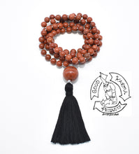 Load image into Gallery viewer, Red Jasper Handmade 108 Stone Mala