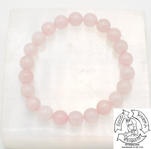 """Loving"" - Rose Quartz Stone Bracelet"