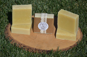 Shea Butter Lemongrass Soap - 4 Pack