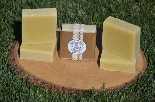 Shea Butter Lemongrass Soap - 5 Pack