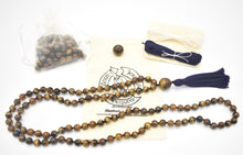 Load image into Gallery viewer, Good Karma Products Tiger Eye Mala Kit