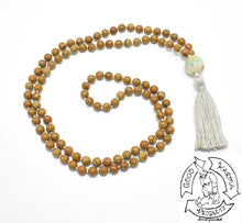Load image into Gallery viewer, Wood Jasper Handmade Mala