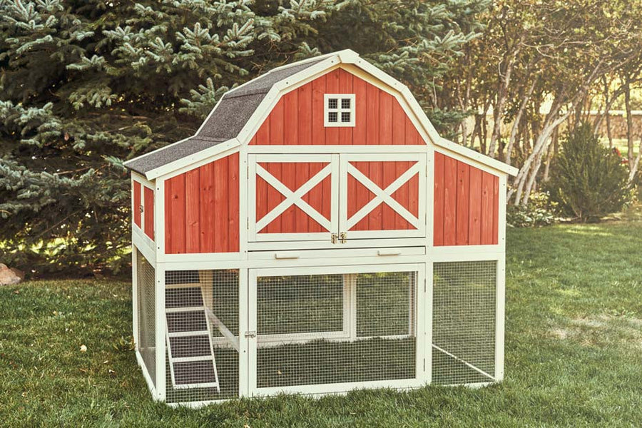 Chicken House ranch chicken coop | chicken saloon™ | chicken saloon
