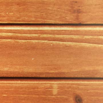 Closeup of wood panels resting neatly within each other