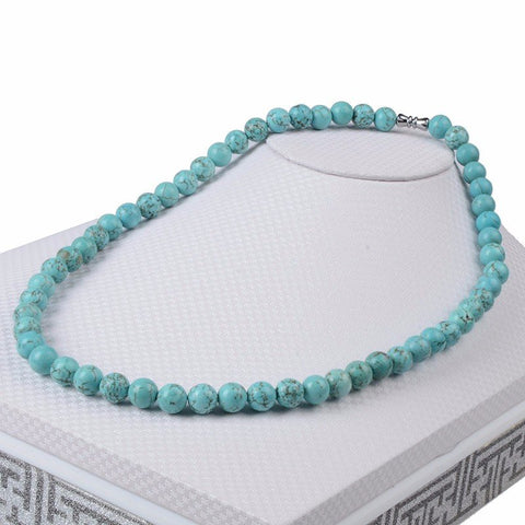 Natural healing stone beads elegant necklace - Stones and Sparkles