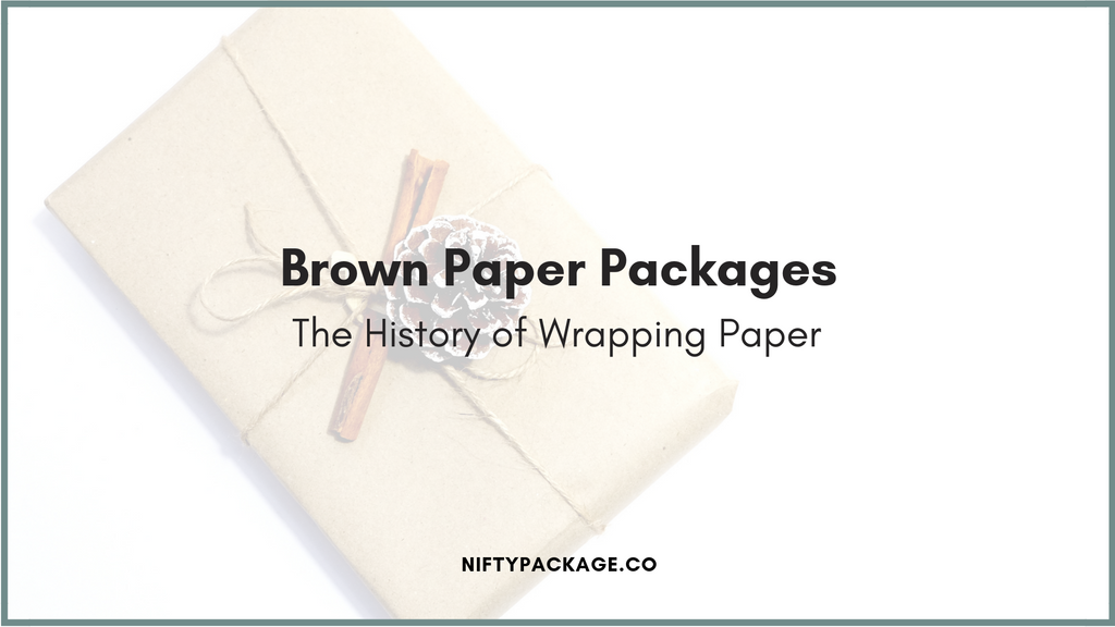 Brown Paper Packages Wrapped Up With String