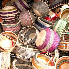 Baskets made in other countries outside the US