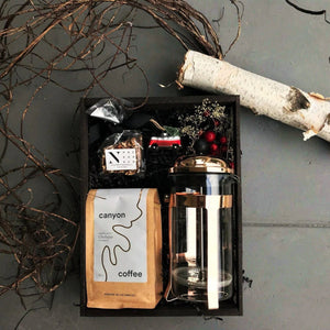 Dripping in Gold Coffee Gift - Nifty Package Co