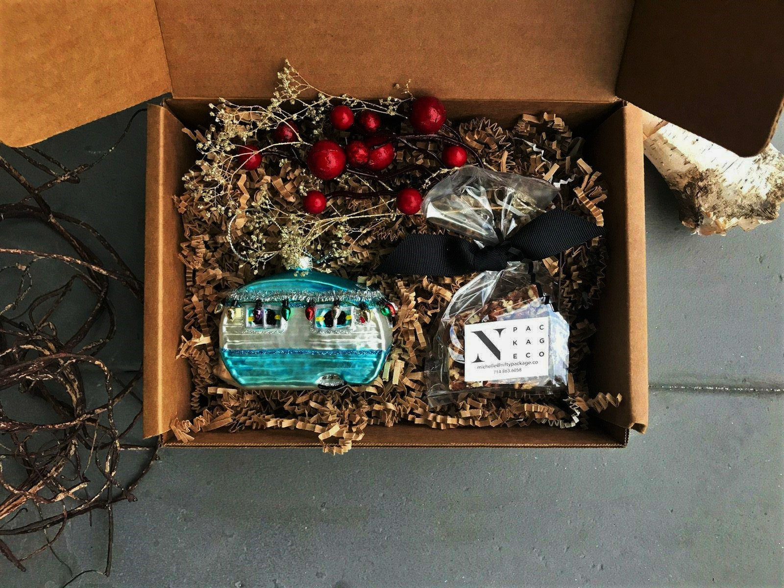 Vintage Traditions Ornament Gift - Nifty Package Co