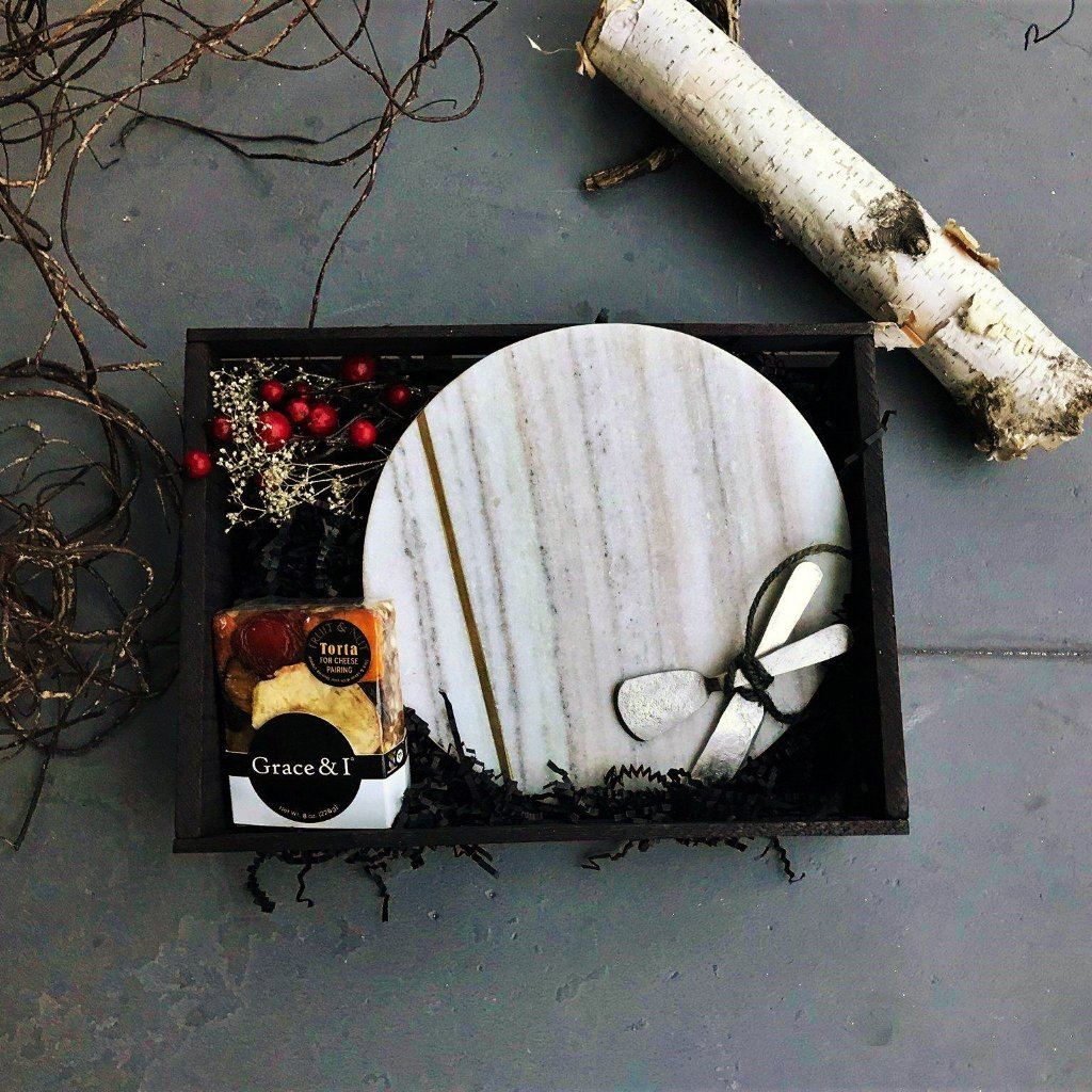Marble Cheese Board Gift