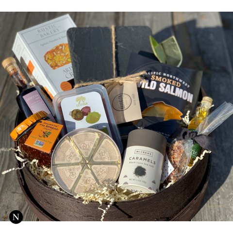 Charcuterie Cheese Board Basket