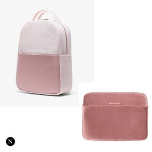 Pink Herschel and MyTagaLong Pink Sleeve Collection - Nifty Package Co