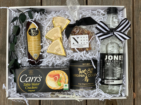 Black and White Foodie Holiday Gift - Nifty Package Co