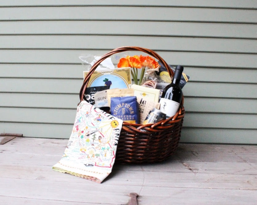 California Gourmet Gift Basket - Nifty Package Co