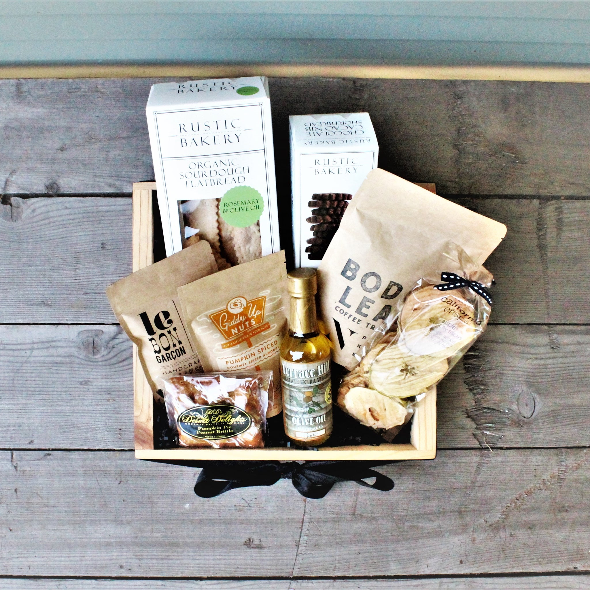Holiday Foodie Basket - Nifty Package Co