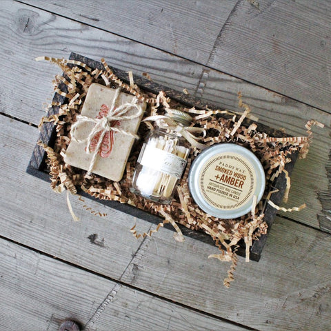 Paddywax Candle and Soap Gift