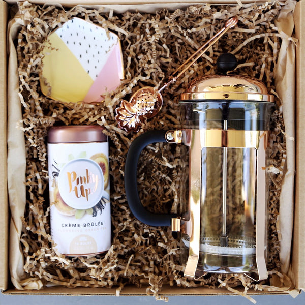 Nifty Package Co. Gourmet Gifts: Piper Rose Tea Set
